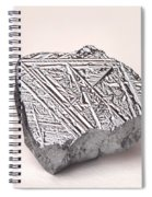 Pure Crystalline Silicon Spiral Notebook