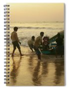 Puri Fishermen Spiral Notebook
