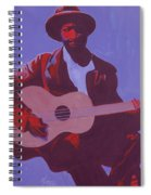 Purple Blues Spiral Notebook