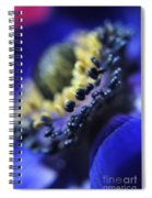 Purple Bulb Flower Spiral Notebook