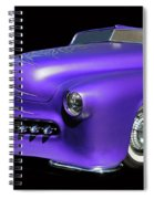 Purple Customized Spiral Notebook