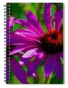 Purple Daisy's Spiral Notebook