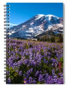 Purple Fields Forever Spiral Notebook