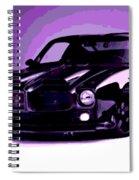 Purple Firebird Spiral Notebook