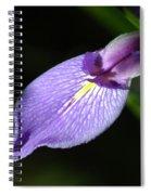 Japanese Iris Petal Spiral Notebook