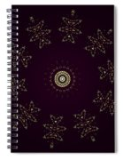 Yellow Flying Kitties Cats Spiral Notebook
