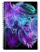Purple Fusion Spiral Notebook