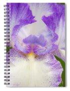 Purple Iris Bliss Spiral Notebook