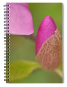 Purple Magnolia Spiral Notebook