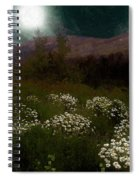 Purple Mountain Meadow Spiral Notebook