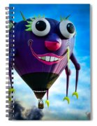 Purple People Eater Spiral Notebook