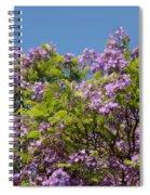 Purple Prelude Spiral Notebook