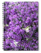Purple Screen Square Spiral Notebook