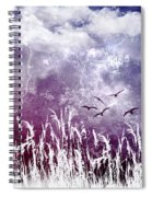 Purple Skies Spiral Notebook
