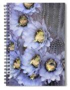 Purple Torch Spiral Notebook