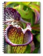 Purple Veins Spiral Notebook