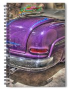 Purplre Car Dearborn Mi Spiral Notebook