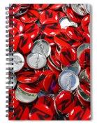 Push Chevys Buttons Spiral Notebook