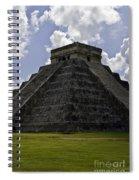Pyramid  Of Kukulkan  Spiral Notebook