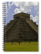 Pyramid Of Kukulkan Two Spiral Notebook