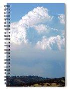 Pyrocumulus Cloud  Spiral Notebook