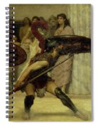 Pyrrhic Dance Spiral Notebook