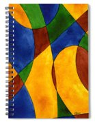 Quadrichrome 13 Spiral Notebook