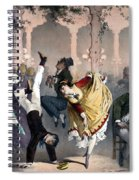 Quadrille At The Bal Bullier Spiral Notebook