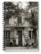 Quaint Hanoi Spiral Notebook