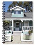 Quaint House Architecture - Benicia California - 5d18817 Spiral Notebook