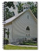 Quaker Church Pencil Spiral Notebook