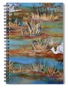 Quality Time At The Marsh Spiral Notebook