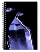 Quartz Crystal & Sparks Spiral Notebook