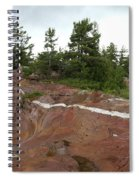 Quartz Vein Spiral Notebook