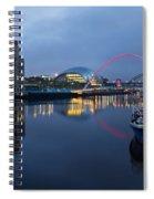 Quayside Landmarks Spiral Notebook