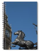 Queen Boadicea Spiral Notebook