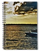 Queen City Ferry Spiral Notebook