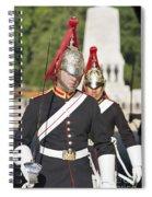 Queen Lifeguards London Spiral Notebook