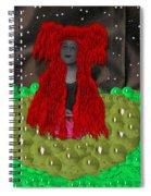 Queen Of The Huns Spiral Notebook