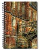 Queens' College And Mathematical Bridge Spiral Notebook