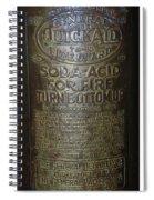 Quick Aid Extinguisher Spiral Notebook