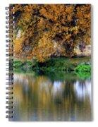 Quiet Autumn Day Spiral Notebook