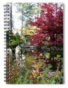Quiet Autumn Pond Spiral Notebook