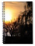Quiet Country Sunrise Spiral Notebook