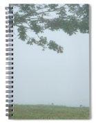 Quiet Fog Rolling In Spiral Notebook