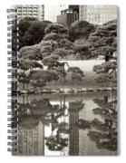 Quiet Moment In Tokyo Spiral Notebook