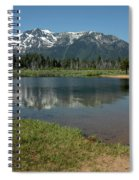 Quiet Reflections Spiral Notebook