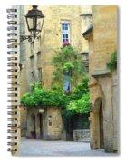 Quiet Street In Sarlat Spiral Notebook