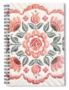 Quilted Centerpiece Spiral Notebook