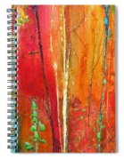 Quinacridone Hollow  Spiral Notebook